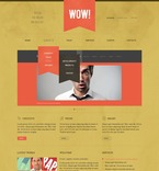 Web design PSD  Template 57067