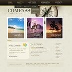 Travel PSD  Template 57071