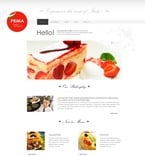 Cafe & Restaurant PSD  Template 57083