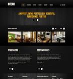 Furniture PSD  Template 57085