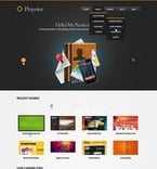 Web design PSD  Template 57086