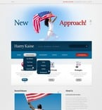 Politics PSD  Template 57087