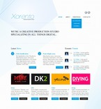 Web design PSD  Template 57095