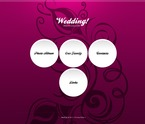 Wedding PSD  Template 57097