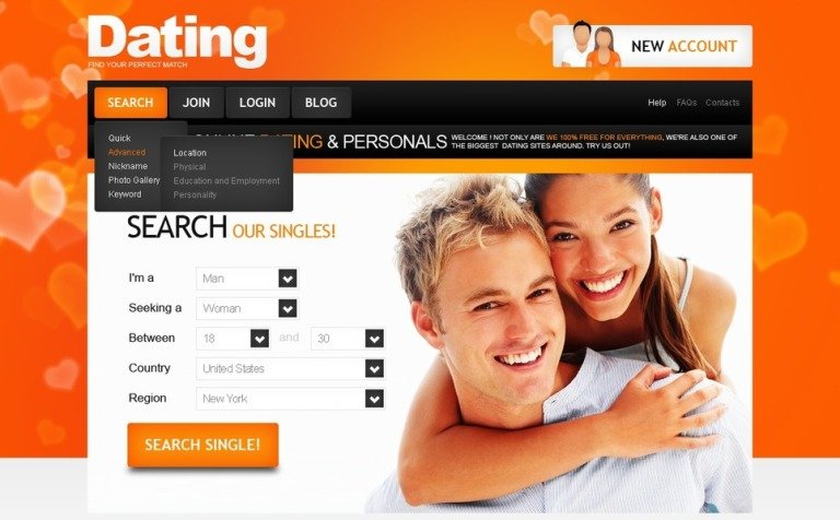 Dating site in usa only