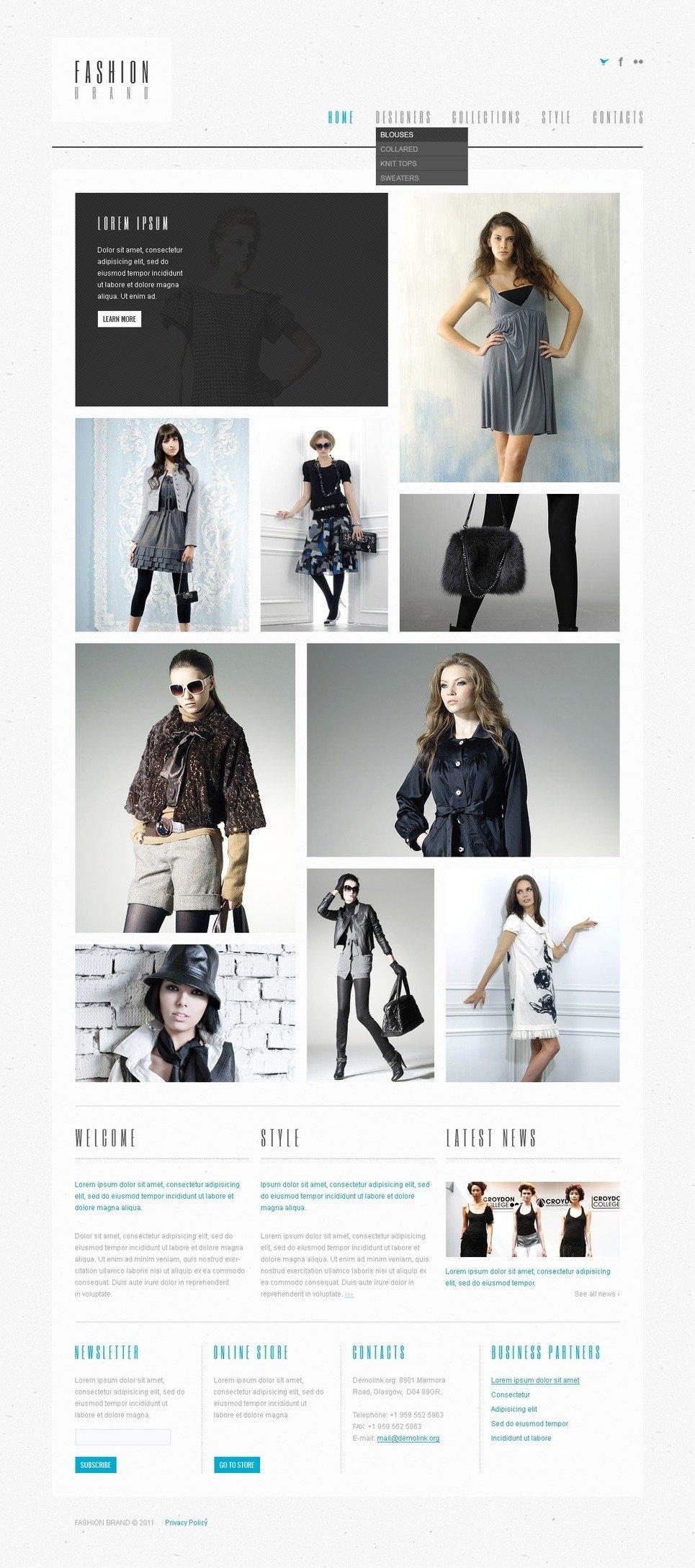 Fashion Store PSD Template New Screenshots BIG