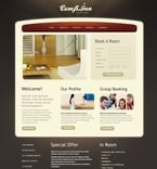 Hotels PSD  Template 57101