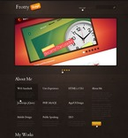 Web design PSD  Template 57107