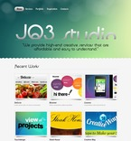 Web design PSD  Template 57113