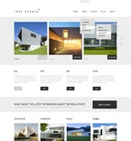 Real Estate PSD  Template 57123