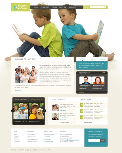 Website Template #57129
