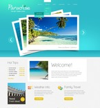 Travel PSD  Template 57130