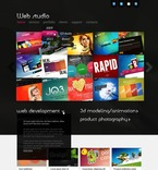 Web design PSD  Template 57137
