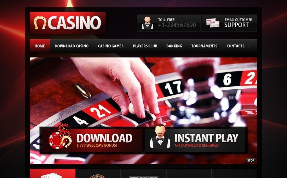 Online kaszinók  PSD sablon New Screenshots BIG