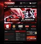 Casino PSD  Template 57140