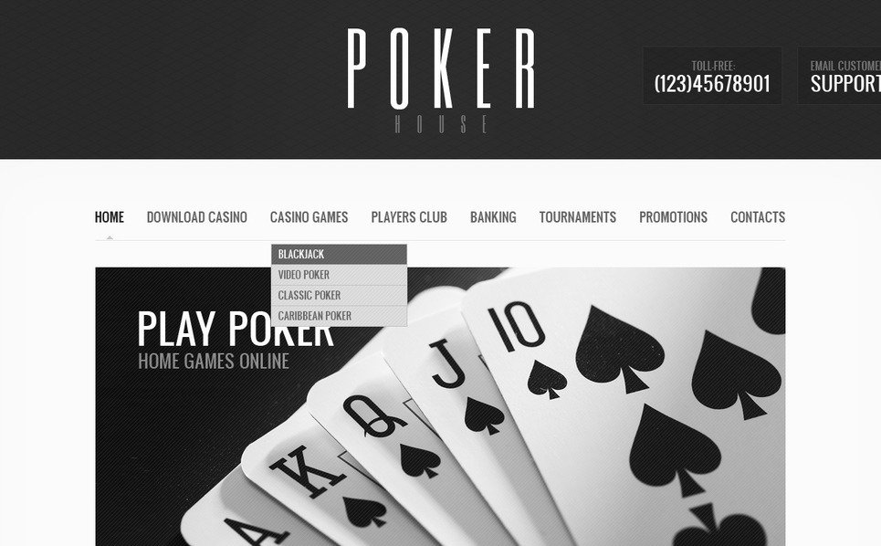 Çevrimiçi Poker  Psd Şablon New Screenshots BIG