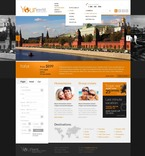 Travel PSD  Template 57142