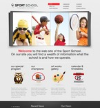 Education PSD  Template 57143