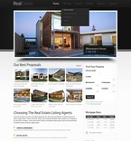 Real Estate PSD  Template 57147
