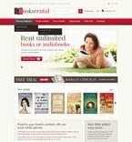 Books PSD  Template 57149