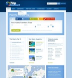 Travel PSD  Template 57154