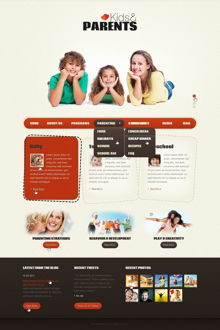 PSD макет сайта №57165