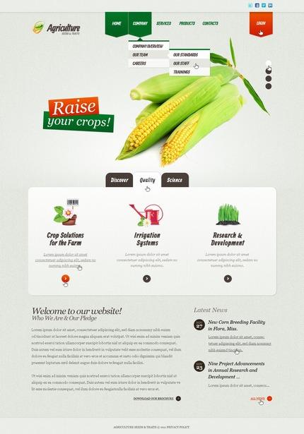 PSD макет сайта №57176