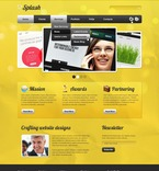 Web design PSD  Template 57178