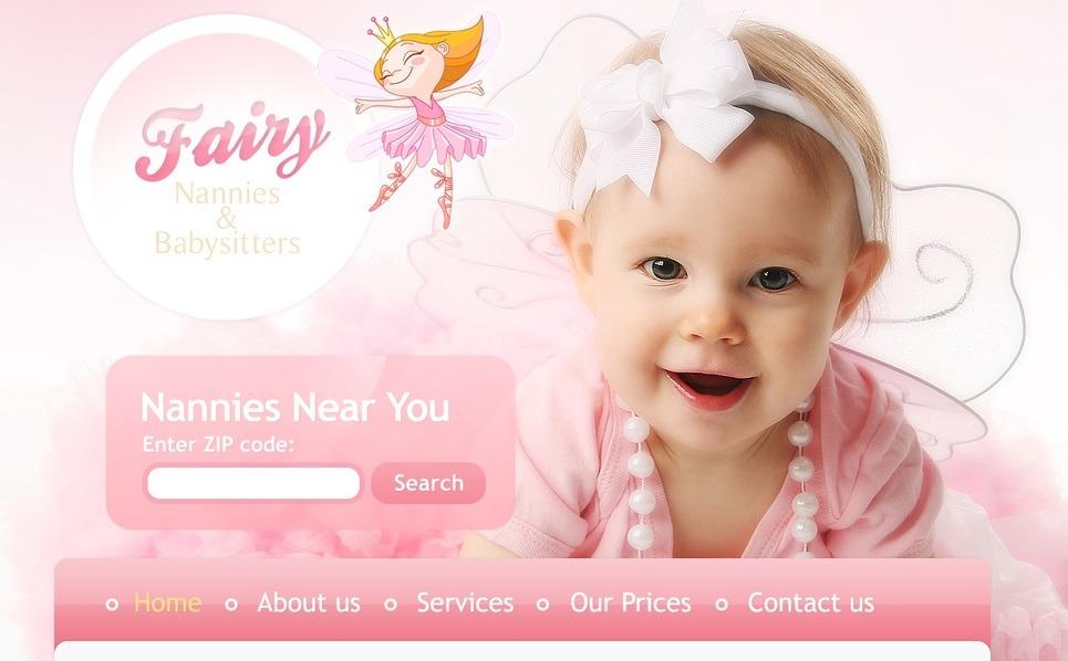 Template PSD  #57181 per Un Sito di Babysitter New Screenshots BIG