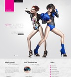Fashion PSD  Template 57184