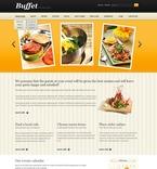 Cafe & Restaurant PSD  Template 57186