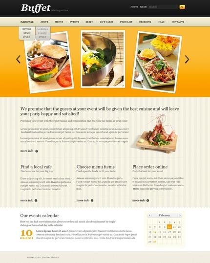 PSD макет сайта №57186