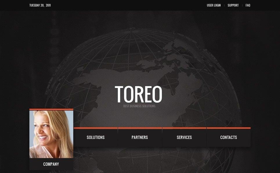 Template Photoshop  para Sites de Negócios e Prestadores de Serviços  №57190 New Screenshots BIG