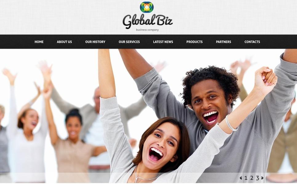 Szablon PSD #57191 na temat: biznes i usługi New Screenshots BIG