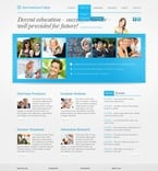 Education PSD  Template 57192