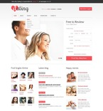 Dating PSD  Template 57197
