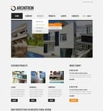 Architecture PSD  Template 57200