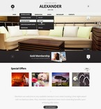 Hotels PSD  Template 57202
