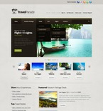 Travel PSD  Template 57208