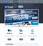 Web design PSD  Template 57211