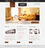Hotels PSD  Template 57212
