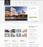 Real Estate PSD  Template 57214