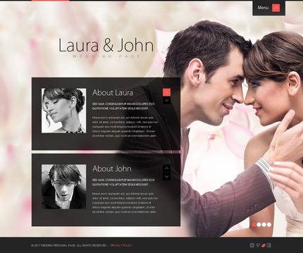 ADOBE Photoshop Template 57215 Home Page Screenshot