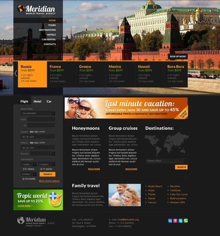 PSD макет сайта №57231