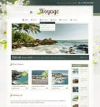 Travel PSD  Template 57234