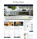 Real Estate PSD  Template 57235