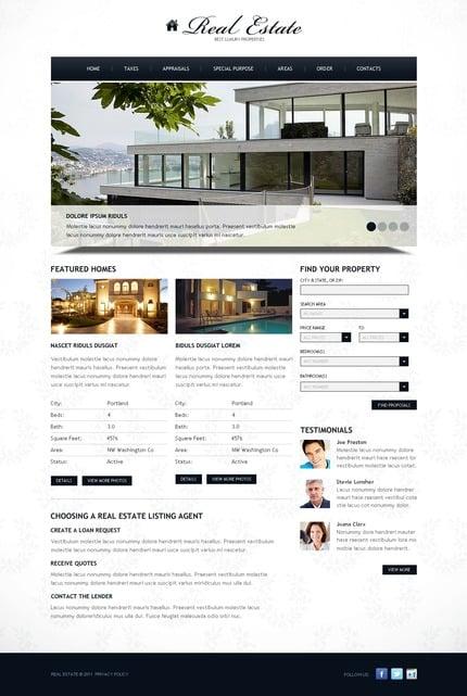 PSD макет сайта №57235