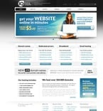 Web Hosting PSD  Template 57240