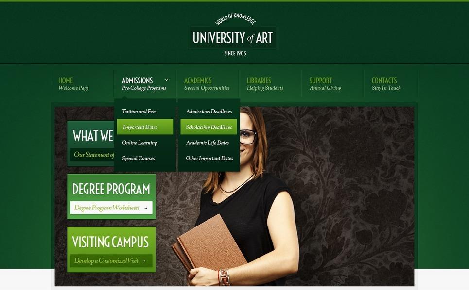 PSD Vorlage für Universität  New Screenshots BIG