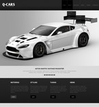Cars PSD  Template 57256
